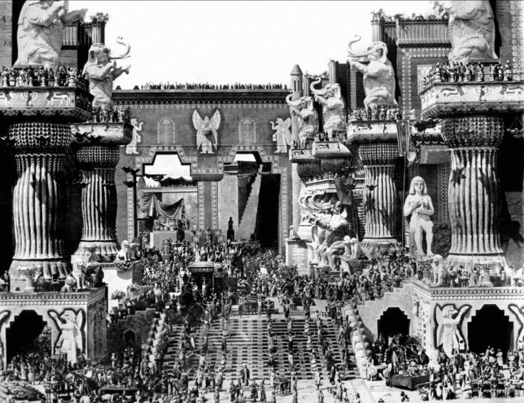 intolerance D.W. Griffith
