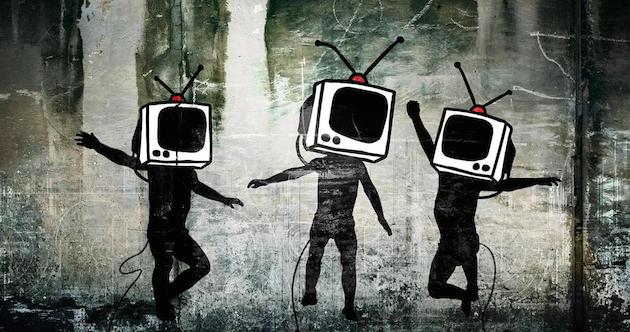 Têtes TV télévision propagande